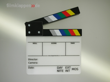 "Camera Slate ""HalfSize color"""