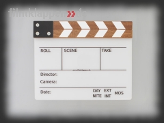 "Camera Slate ""FullSize Timber"""