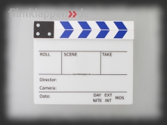 "Camera Slate ""FullSize white/blue"""